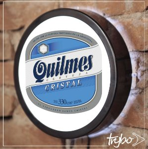 LUMINOSO ESTILO BAR - 24cm - QUILMES