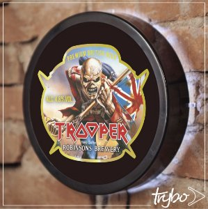 LUMINOSO ESTILO BAR - 24cm - TROOPER
