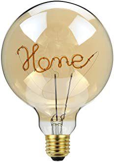 Lampada de Filamento LED G125 4W - HOME