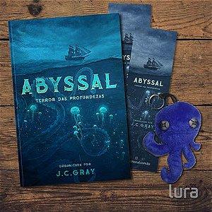 KIT 5 LIVROS CTHULLU Abyssal - Terror das Profundezas: Antologia de contos