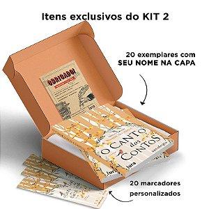KIT ATACADO O CANTO DOS CONTOS OUTONO 20 exemplares