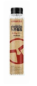 Munição para Airsoft BBs Amoeba 0.25g 2700 Unds