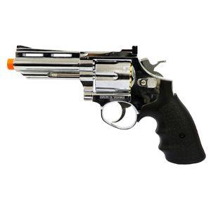 Revolver de Airsoft GNBB HFC HG-132 Cromado Cal 6mm