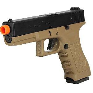 Pistola de Airsoft GBB ARMY ARMAMENT Glock R17B Tan Cal 6mm