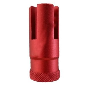 Flash Hider para Rifle AND PARTS 50mm Vermelho R.Esquerda