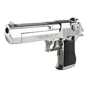 Pistola de Airsoft GBB TOKYO MARUI Desert Eagle Cromada Cal 6mm