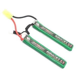 Bateria para Rifle RAPIDFIRE LIPO 7.4V 20c 1100mAh