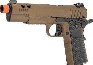 Pistola de Airsoft GBB SECUTOR 1911 Rudis V Bronze Cal 6mm
