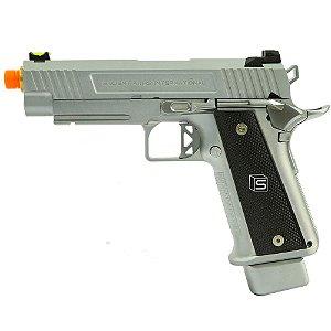 Pistola de Airsoft GBB EMG HI-CAPA 4.3 Silver Cal 6mm