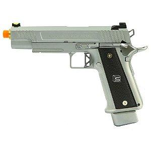 Pistola de Airsoft GBB EMG HI-CAPA 5.1 Silver Cal 6mm