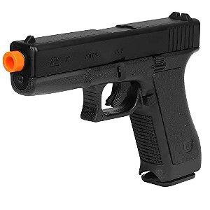 Pistola de Airsoft SPRING KWC G7 Glock 17 Preto Cal 6mm