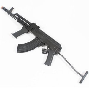 Rifle de Airsoft AEG LCT AMD 65 Preto Cal 6mm