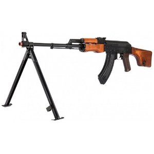 Rifle de Airsoft  AEG LCT RPK 74 Preto Cal 6mm