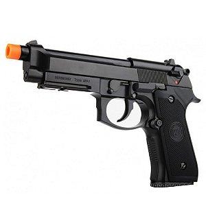 Pistola de Airsoft GBB WE M9A1 Preto Cal 6mm