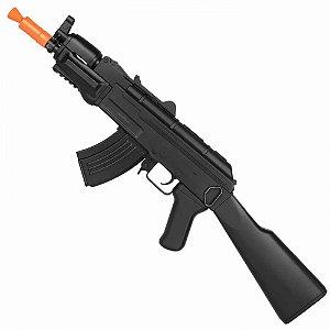 Rifle de Airsoft AEG CYMA CM521 Ak Spetnaz Preto Cal 6mm