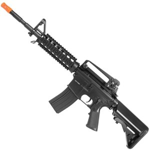 Rifle de Airsoft AEG CYMA CM507 M4a1 Preta Cal 6mm