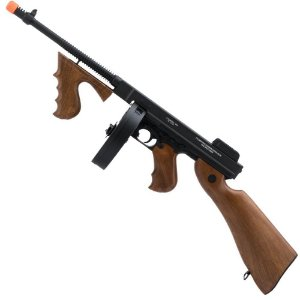 Rifle de Airsoft AEG CYBERGUN Thompson com Drum Cal 6mm