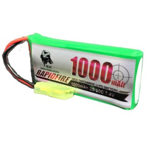Bateria para Rifle RAPIDFIRE LiPO 7.4V 20C 1000mAh