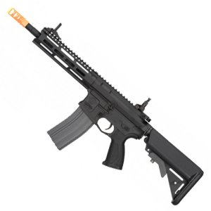 Rifle de Airsoft AEG G&G CM16 Raider 2.0 Preto Cal 6mm