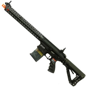 Rifle de Airsoft AEG G&G TR16 MBR 308SR Preto Cal 6mm
