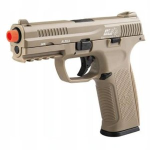 Pistola de Airsoft GBB ICS BLE ALPHA 001 STR Tan Cal. 6mm