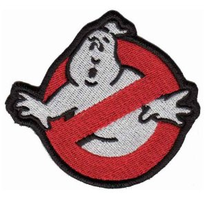 Patch Bordado TALYSMA BORDADOS Ghostbusters - Os Caça Fantasmas FL01