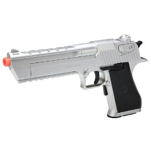 Pistola de Airsoft AEP SRC DESERT Silver GE-0402A(S) Cal 6mm