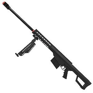 Sniper de Airsoft SPRING GALAXY G.31A Barret .50 Cal 6mm