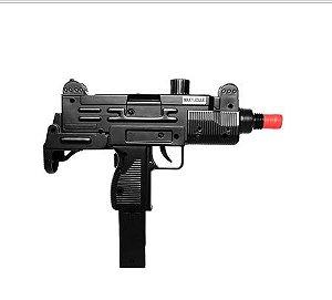 Pistola de Airsoft Spring - Saigo - Uzi - Cal 6mm