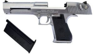 Pistola de Airsoft GBB - Cybergun - Desert Eagle Chrome - Cal. 6mm