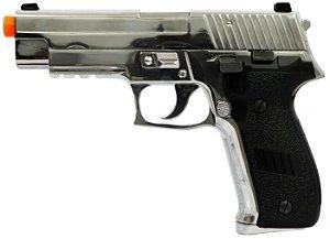 Pistola de Airsoft GBB HFC 226 HG 175C C SILVER Cal. 6mm
