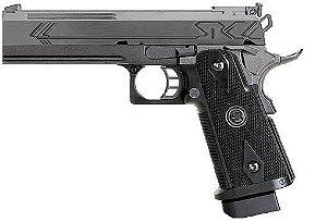 Pistola de airsoft GBB SRC Hicapa  Black Cal 6mm