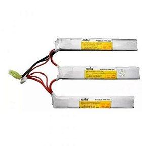 Bateria de Airsoft  LiPO  Feasso FFB 012  11.1V  25C  1500 MaH