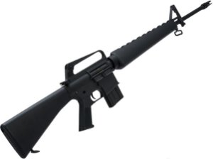 Rifle de Airsoft AEG  G&P  M16a1 Vietnam  Cal. 6mm