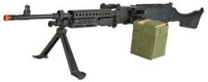 Rifle de Airsoft AEG  S&T  M240 Full Metal  Cal 6mm