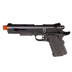 Pistola de Airsoft GBB SECUTOR 1911 Rudis Model VI Black Cal .6mm