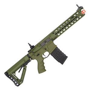 Rifle de Airsoft AEG G&G GC16 Predator Full Metal Verde Cal. 6mm