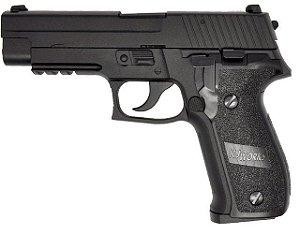 Pistola de Airsoft GBB Kj Works Sig Sauer KP01 P226 Blk Cal .6mm