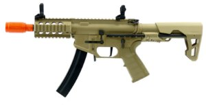 RIfle de Airsoft AEG KINGARMS PDW 9MM AG-229 TAN Cal .6mm