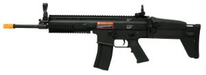 Rifle de Airsoft AEG Classic Army Scar MK16 Black Cal. 6mm