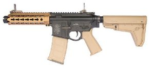 Rifle de Airsoft AEG BOLT B4 Keymod Rebel BRSS Black DUAL TONE Cal .6mm