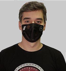 Máscara Unissex PRETA - Caixa Preta