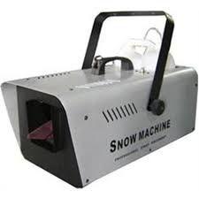Locação: Maquina de neve Snow Machine
