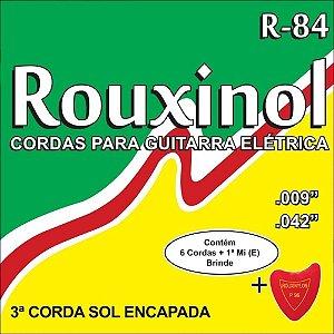 Encordoamento ROUXINOL CORDAS PARA GUITARRA ELETRINCA R-84