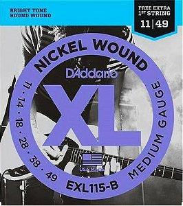 Encordoamento D'addario Para Guitarra EXL115-B