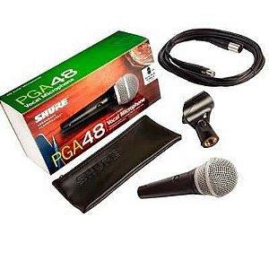 Microfone SHURE PGA 48 + Brinde