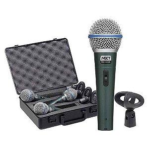 KIT de Microfone PRO BTM 58A