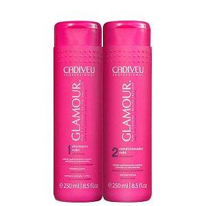 Kit Glamour Rubi Cadiveu - Shampoo 250ml e Condicionador 250ml