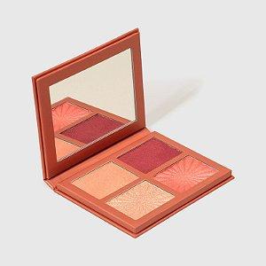 Paleta Face To Glow - Blush e Iluminador Nádia Tambasco - 16g