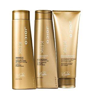Kit K-Pak Intense Joico - Shampoo e condicionador 300ml e mascara 250ml